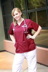 Taking Charge (J.erichson) Tags: student nurse healing nursing stethoscope scrubs healer