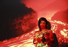 Under you skin - LAVA (Elena 'Lenny' Lentini) Tags: light hot colour colors fire lava projector lenny elena luce fuoco giulia rossello proiettore lentini elen95