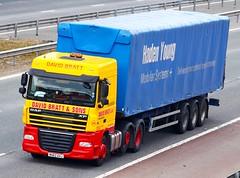 DAF XF MX62 AVJ David Bratt (gylesnikki) Tags: yellow truck artic davidbratt