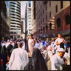 Bazaar right outside the gates of masjid nabawi in madinah (Mink) Tags: square squareformat saudi arabia medina mayfair saudiarabia umrah   madinah almadinah almunawwara iphoneography instagram instagramapp uploaded:by=instagram