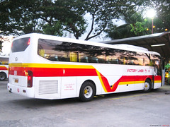 Victory Liner 99 (Next Base) Tags: victory liner 99 ride namin pauwi inc bus number coachbuilder hyundai motor company chassis kmjkj18bpsc model universe space luxury engine d6abd airconditioning unit overhead suspension airsuspension seating configuration 2x2 capacity 45 passengers shot location baguio city terminal