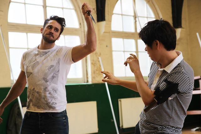 "Changhan Lim and Ed Lyon in rehearsals for the Jette Parker Young Artists performance of L'isola disabitata in Hobart, Australia.      Photo by Chris Shipman     <a href=""http://www.roh.org.uk"" rel=""nofollow"">www.roh.org.uk</a>"