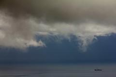 Tormenta en Africa / Storm in Africa (José Rambaud) Tags: africa sea seascape storm rain clouds mar lluvia day cloudy morocco nubes tormenta marruecos cloudscape tarifa rif straitofgibraltar estrechodegibraltar جبال parquenaturaldelestrecho الريف