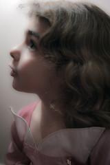 Rose en Rose #3 (Profond Dment (pas trop l)) Tags: face eyes nikon raw dress princess robe portait yeux visage younggirl princesse petitefille d700