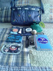 What's in my bag Spring 2013 (CaryFairy) Tags: lasvegas purse whatsinyourbag whatsinmybag lesportsac southparktoken