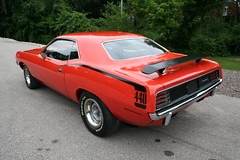 """1970 Plymouth 'Cuda 440 • <a style=""""font-size:0.8em;"""" href=""""http://www.flickr.com/photos/85572005@N00/8635076420/"""" target=""""_blank"""">View on Flickr</a>"""