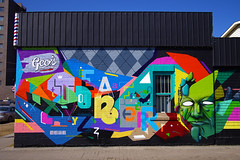 Eafo, Toner, XYZ () Tags: colour calgary graffiti alberta font type letter graff argyle tone yyc xyz toner roten eafo renot