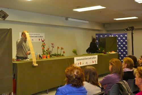 Jukka Heinonen en 'La Fiesta de la Primavera' en Mercabarna Flor 2013 - Jukka Heinonen en 'La Fiesta de la Primavera en Mercabarna Flor 2013.