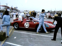 Factory Ferrari 275 P at Sebring 1964 (Nigel Smuckatelli) Tags: auto classic cars race speed vintage classiccar automobile florida ferrari racing prototype hour passion legends vehicle autoracing 12 sebring sir endurance motorsports scuderia fia csi 1964 sportscar wsc heures world sportauto autorevue historic championship raceway louis sebringinternationalraceway sebringflorida 1964 legends gp oldtimersport ninovaccarella histochallenge manufacturers ludovicoscarfiotti gp ferrari275p sebring motorsports nigel smuckatelli galanos manufacturers the12hourgrind