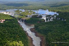 Poor Niagara! (pdxsafariguy) Tags: trees brazil argentina river waterfall aerial unesco cataratas iguazu iguazufalls cataratasdeliguazu