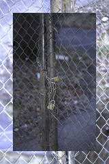 untitled (Jonathon Spencer) Tags: wire gate lock border expose chain fencing padlock