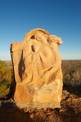 Mother & Child (Conor O'Dea) Tags: sun australia shade nsw outback brokenhill sculpturesymposium