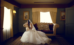 (HereNorth) Tags: wedding digital canon photography eos bride full couch frame 5d gown 2470mm herenorth