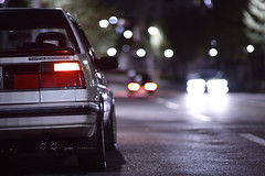car japan night 85mm sigma toyota gt corolla merrill foveon sd1 カローラ ae82 corollagt sigma85mm sigma85mmf14 sigma8514 明舞団地 sd1merrill カローラgt