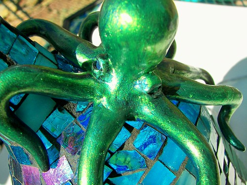 """Octo-Bottle"" recycled light"