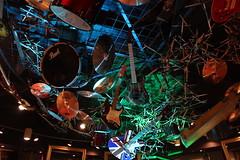 Teto Rock 'n Roll (alnero) Tags: usa bar canon drums eos rebel orlando florida guitar guitarra restaurante frias eua bateria rocknroll universalstudios vacations hardrockcafe t3i