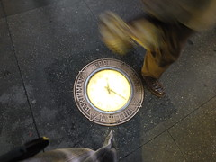Street Time (astoria4u) Tags: street nyc motion clock downtown time manhattan william fulton 1884 compas barthman sompass