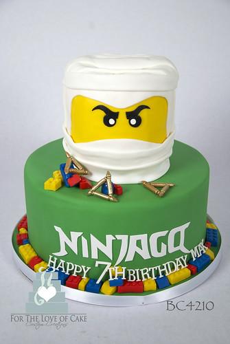 Sensational Bc4210 Ninjago Birthday Cake Toronto Oakville A Photo On Flickriver Funny Birthday Cards Online Alyptdamsfinfo