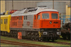 RTS 230.077 in Cottbus (Tegeler) Tags: railroad germany deutschland diesel railway rts cottbus trainspotting ludmilla baureihe232 class232