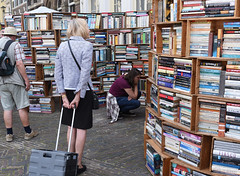 the search (=Mirjam=) Tags: nikond750 odc books deventer book market city sunday searching looking paper augustus 2016
