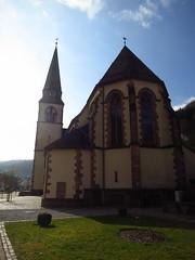 the Catholic Parish Church in Bad Griesbach (BZK2011) Tags: canon powershot schwarzwald blackforest s100 badgriesbach nordschwarzwald katholischepfarrkirche catholicparishchurch northernblackforest