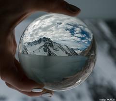 Embalse el Yeso (rockdrigomunoz) Tags: nieve naturaleza lago embalse frio viajes nubes montaas invierno