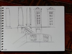 Custom House, Ipswich (Suffolk Booklover) Tags: ipswich customhouse sketch