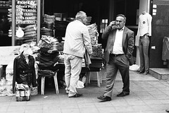 * (jubalharshaw) Tags: street photography efke 25 black white film home develop leica m2 rodinal zeiss planar istanbul turkey grand bazaar series