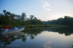 Broadkill River (taylor.michaelj) Tags: boat fish river water mjt nikon d7000 man sky
