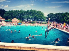 At the pool (carolinegiles1) Tags: people greatoutdoors lifeguard poolfun wet summerday splash photography iphone holidays swimming fun pool diving jumping summer action water swimmingpool