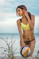 DSC08045 (Tjien) Tags: beach volleyball summer 2016 bfg swimsuit portrait outdoorportrait