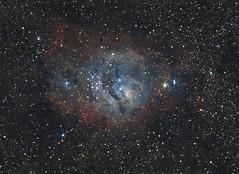 M8 - The Lagoon Nebula (Antoine Grelin) Tags: orion telescope astronomy astrophotography nebula lagoon m8 messier8 las vegas nevada stars space lightroom pixinsight canon t3i 600d astronomie astrophotographie desert hubble kepler nasa astrometrydotnet:id=nova1676570 astrometrydotnet:status=solved