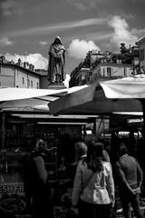 GB (BribbroPhoto) Tags: canoneos6d tamronspaf70200mmf28diif biancoenero blackandwhite blackwhite monocrome roma rome mercato market campodefiori