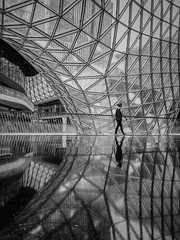 MyZeil Shopping Center (ku.sascha) Tags: street streetphotography frankfurt shopping center my zeil monochrome sw