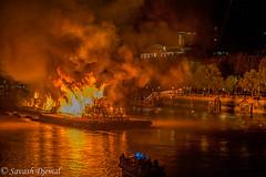 DSCF6690.jpg (Sav's Photo Gallery) Tags: savash riverthames river fire greatfireoflondon flames