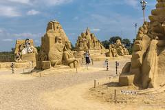066 - Burgas - Sand Sculptures Festival 2016 - 24.08.16-LR (JrgS13) Tags: bulgarien filmhelden outdoor reisen sand sandscuplturefestivals sandskulpturenfestival urlaub burgas