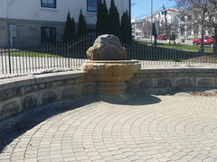 Hill Fountain, Downtown Newton NJ, April 17,2016 (rustyrust1996) Tags: sussexcounty newton newjersey courthouse fountain hillfountain downtown