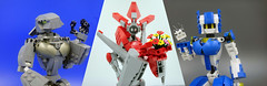 Profile banner Ver 2 (E-Why) Tags: lego moc robot girl candy chloe exo force devastator fembot gauge
