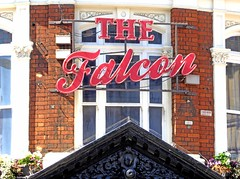Falcon - Clapham (Draopsnai) Tags: falcon pub pubsign wallsign stjohnshill clapham lambeth