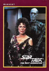 Star Trek The Next Generation Trading Card 168 Front (zigwaffle) Tags: startrekthenextgeneration startrek sciencefiction television trading card paramount 25thanniversary impel 1991 lwaxanatroi mrhomn