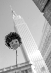 The New York Doll Head (Jodie Dobson (Moving Country) is that busy?) Tags: flickramerica nydollheads jetjan16 flickrradlab nyc16 radlab nyc newyorkcity newyork america usa canon canon6d 6d canondslr fullframedslr dslr bw blackandwhite blackwhite whiteblack wb thebigapple thecity empirestatebuilding empirestate dolly dollyhead newyorkdolls getit voyuer