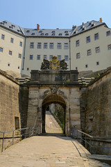 Outer gate of Knigstein (timohannukkala) Tags: fortress knigstein castle gate sachsen germany de