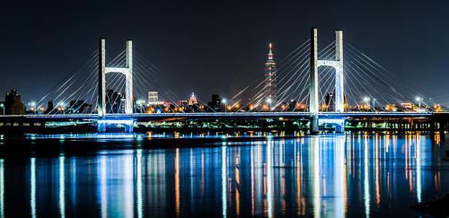 重陽大橋 - 夜景