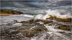 Before the storm (Chas56) Tags: sea seaside seascape phillipisland ocean coast coastline water waves seas roughseas storm canon canon5dmkiii australia victoria landscape ngc