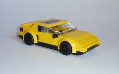Pontiac Fiero Formula (MOCs & Stuff) Tags: lego city town speed champions alternate pontiac fiero formula