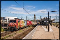 23-08-16 ERS 189 206 + Poznan-shuttle, Hengelo (Julian de Bondt) Tags: ers 189 206 vincent van gogh hengelo poznan shuttle poznanshuttle