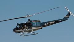 NYSP Huey (blazer8696) Tags: 2016 ecw kswf ny newwindsor newyork swf stewart stewartterrace t2016 usa unitedstates air airshow show bell helicopter huey img1761 iroquois n224sp nysp police state uh1h