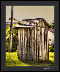Outhouse Michigamme MI (the Gallopping Geezer 3.8 million + views....) Tags: smalltown backroads michigamme mi michigan upperpeninsula ghosttown abandoned decay decayed worn faded derelict lumber rural country countryside building structure old historic history canon 5d3 tamron 28300 geezer 2016
