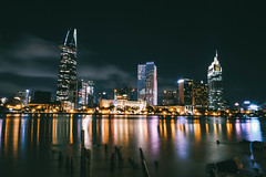 Saigon city by night (LeeShinVN) Tags: city cityscape longexposure night bynight nightscape building saigonese saigon vietnam vietnamese
