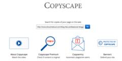 CopyScape Plagiarism Detection Software Checks Content Originality (Harry Stark1) Tags: tipstricks copyscape plagiarism detection software checks content originality